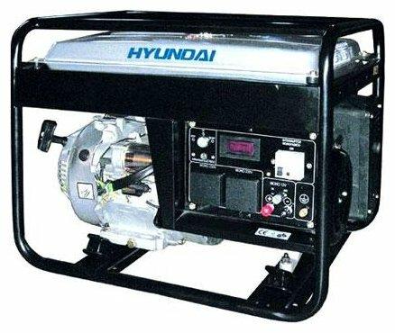 бензиновая электростанция hyundai hy7000l-3