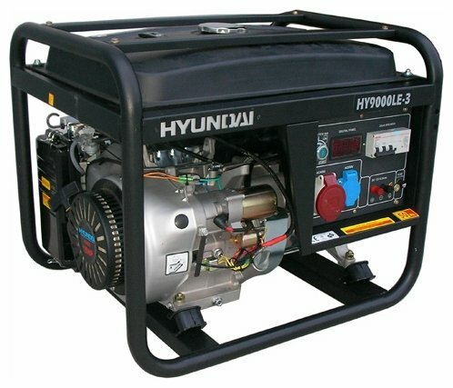 бензиновая электростанция hyundai hy7000lek