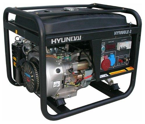 бензиновая электростанция hyundai hy7000lk