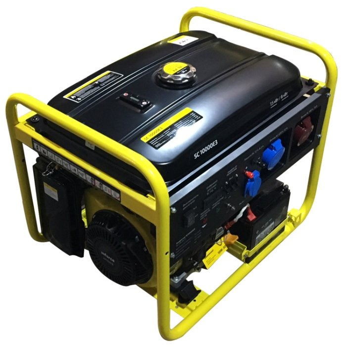 бензиновая электростанция inforce sc10000e3