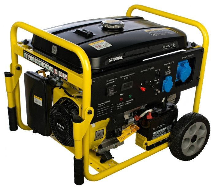 бензиновая электростанция inforce sc8000e