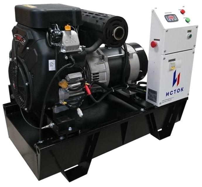 бензиновая электростанция исток аб10с-т400-вм112э