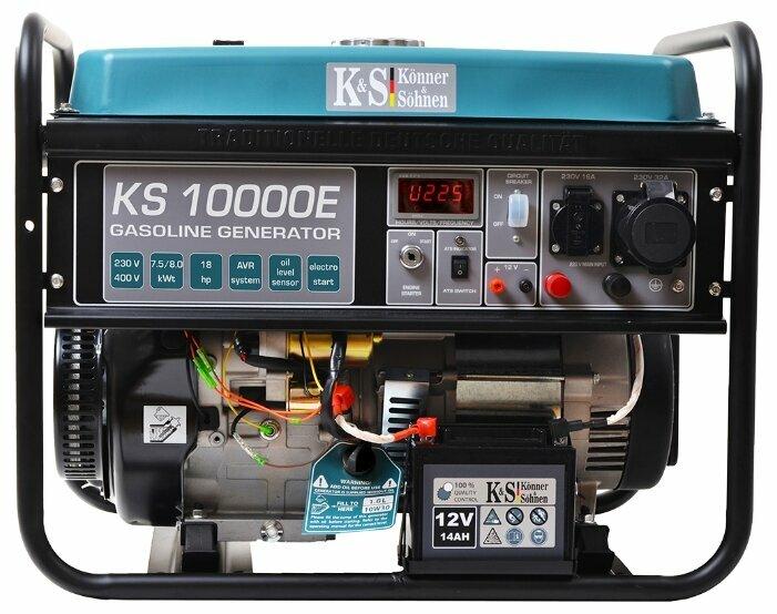 бензиновая электростанция k&s könner & söhnen ks 10000e