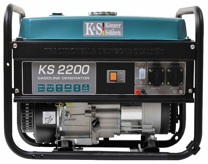бензиновая электростанция k&s könner & söhnen ks 2200