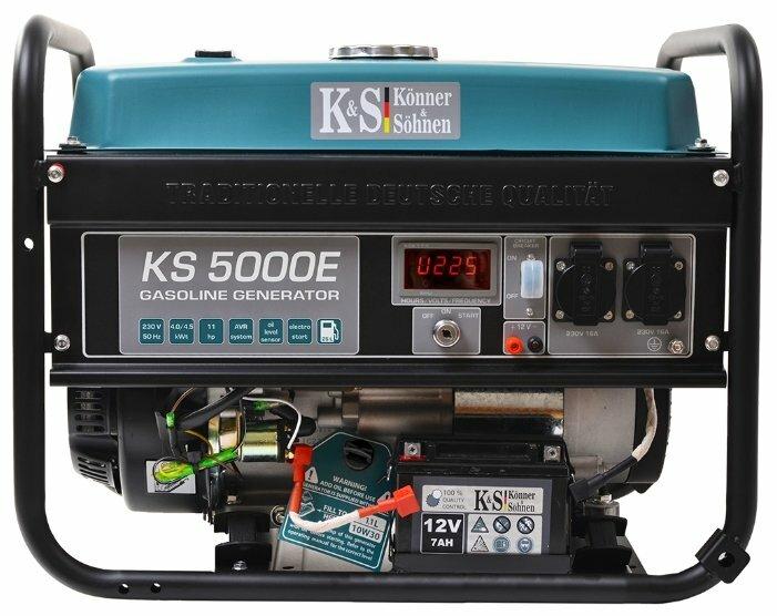 бензиновая электростанция k&s könner & söhnen ks 5000e
