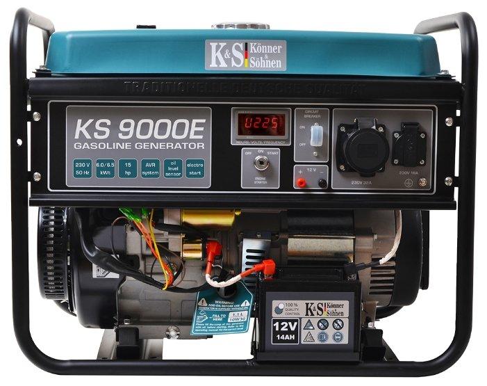 бензиновая электростанция k&s könner & söhnen ks 9000e