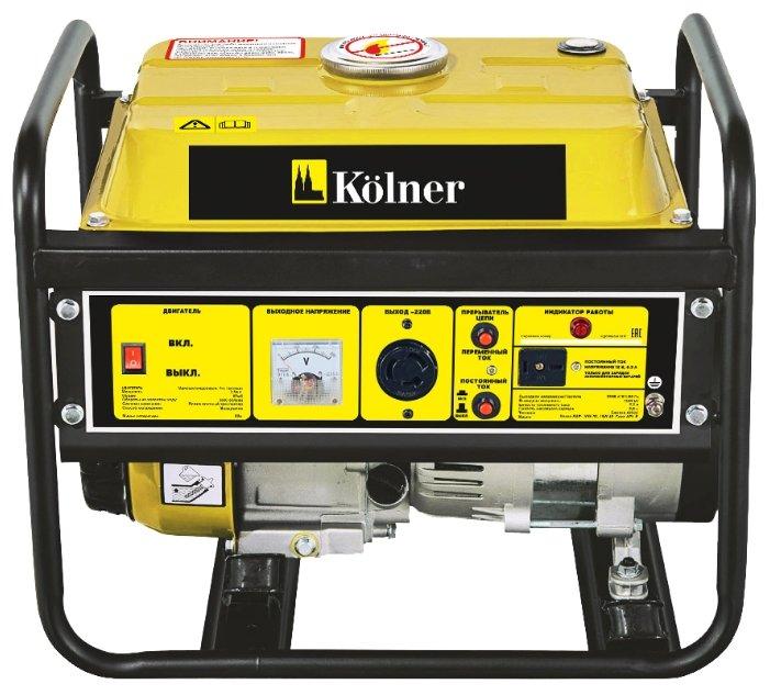 бензиновая электростанция kolner kgeg 1000