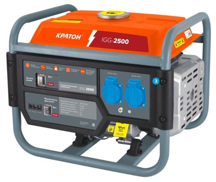 бензиновая электростанция кратон igg-2500