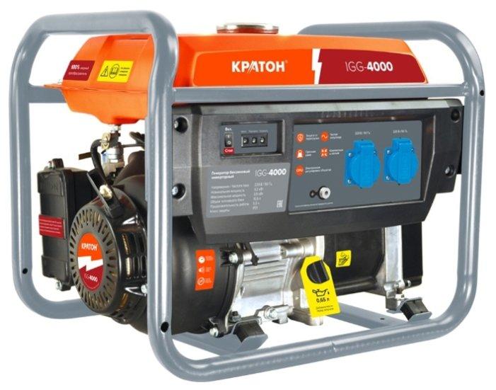 бензиновая электростанция кратон igg-4000
