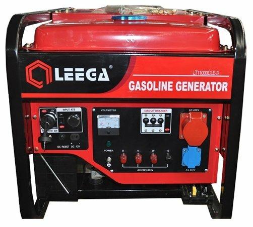 бензиновая электростанция lega power lt 11000clea-3