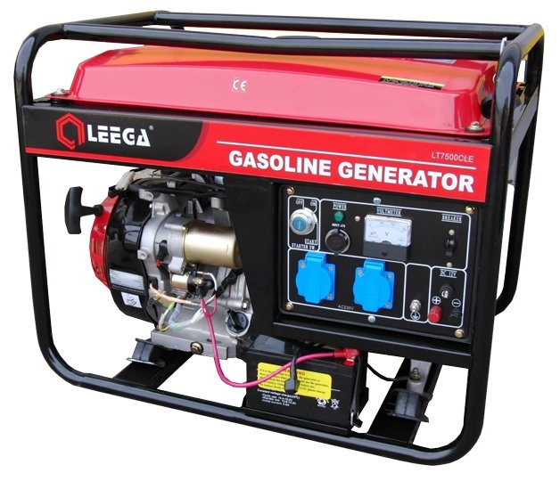 бензиновая электростанция lega power lt 6500clea