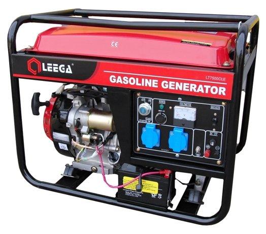 бензиновая электростанция lega power lt 7500cle