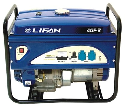 бензиновая электростанция lifan 4gf-3