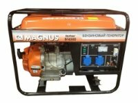 бензиновая электростанция magnus бг6500у