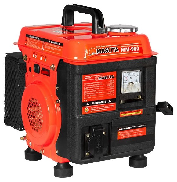 бензиновая электростанция masuta mm-900