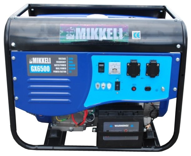 бензиновая электростанция mikkeli gx6500