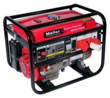 бензиновая электростанция moller mr/ggt 5000r