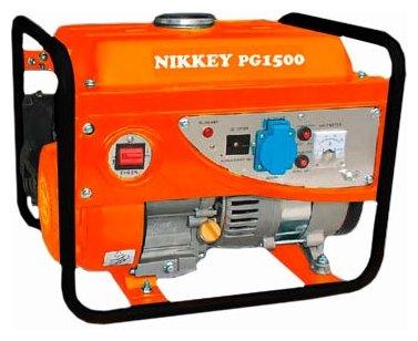 бензиновая электростанция nikkey pg-1500