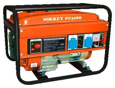 бензиновая электростанция nikkey pg-3000