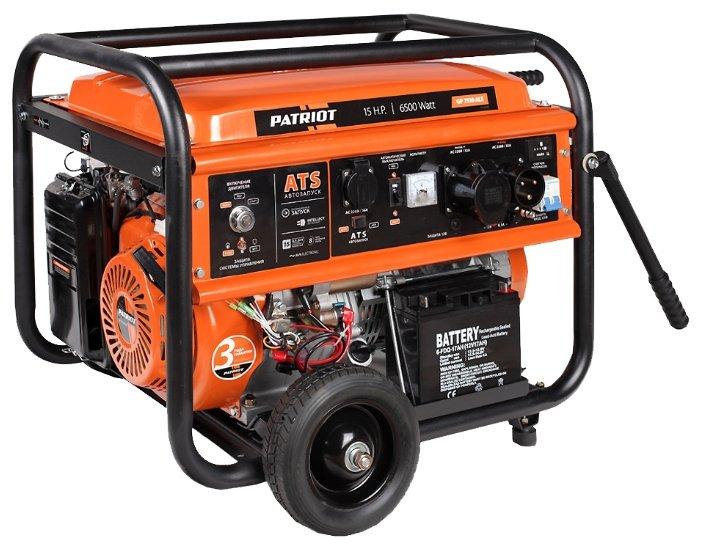 бензиновая электростанция patriot gp 7510ale