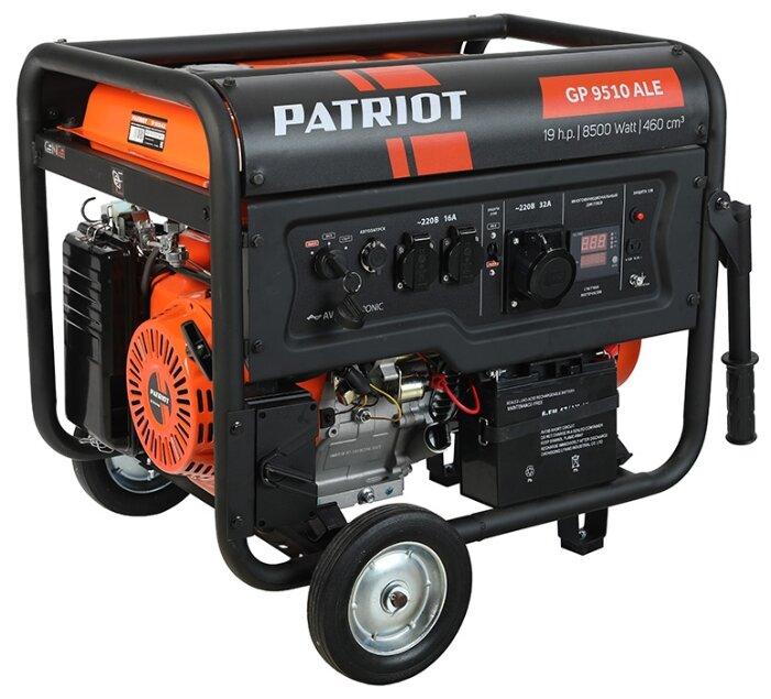 бензиновая электростанция patriot gp 9510ale