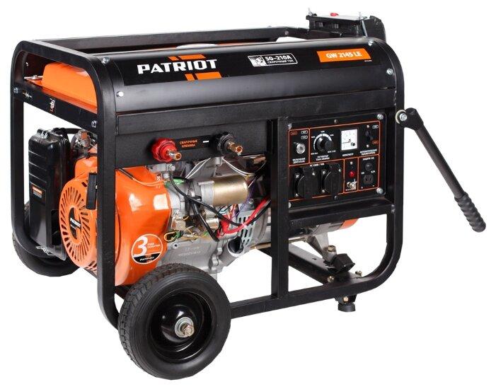 бензиновая электростанция patriot gw 2145le
