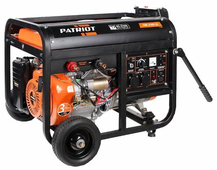 бензиновая электростанция patriot gw 2415le