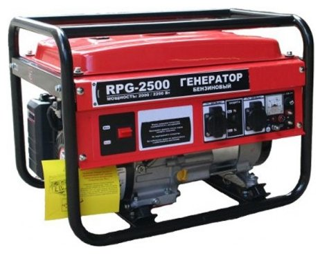 бензиновая электростанция patriot rpg-2500