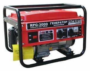 бензиновая электростанция patriot rpg-3000
