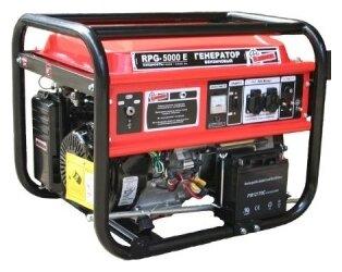 бензиновая электростанция patriot rpg-5000е