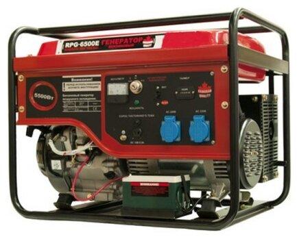 бензиновая электростанция patriot rpg-6500e