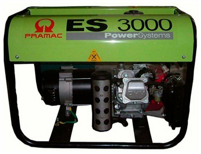бензиновая электростанция pramac es 3000 export