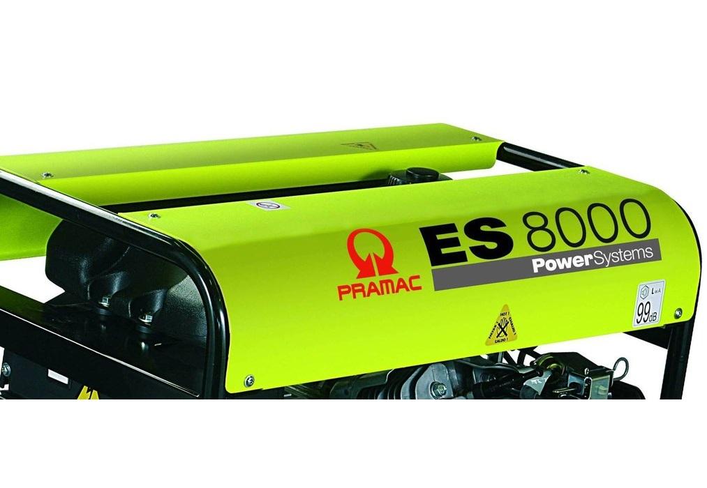 бензиновая электростанция pramac es8000