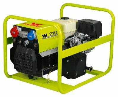 бензиновая электростанция pramac hg w210