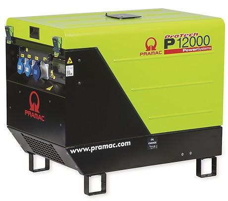 бензиновая электростанция pramac p12000
