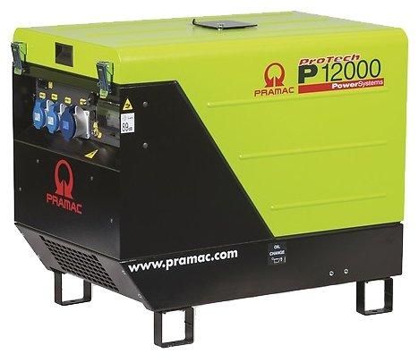 бензиновая электростанция pramac p12000 230v 50hz #avr #conn #dpp