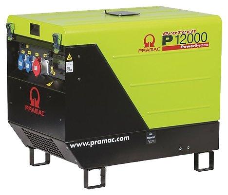 бензиновая электростанция pramac p12000 400v 50hz #conn #dpp