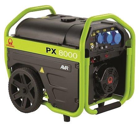бензиновая электростанция pramac px8000 230v 50hz #avr