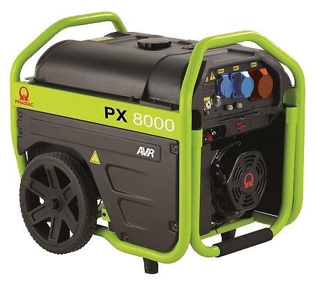 бензиновая электростанция pramac px8000 400v 50hz #avr