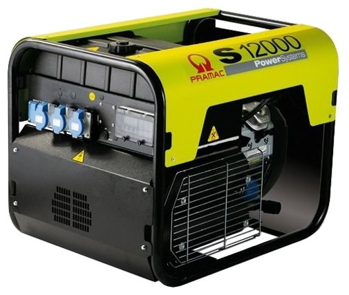 бензиновая электростанция pramac s12000 230v +conn