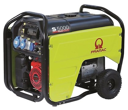 бензиновая электростанция pramac s5000 230v50hz #avr #conn