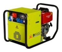 бензиновая электростанция pramac s 5000 hca idle