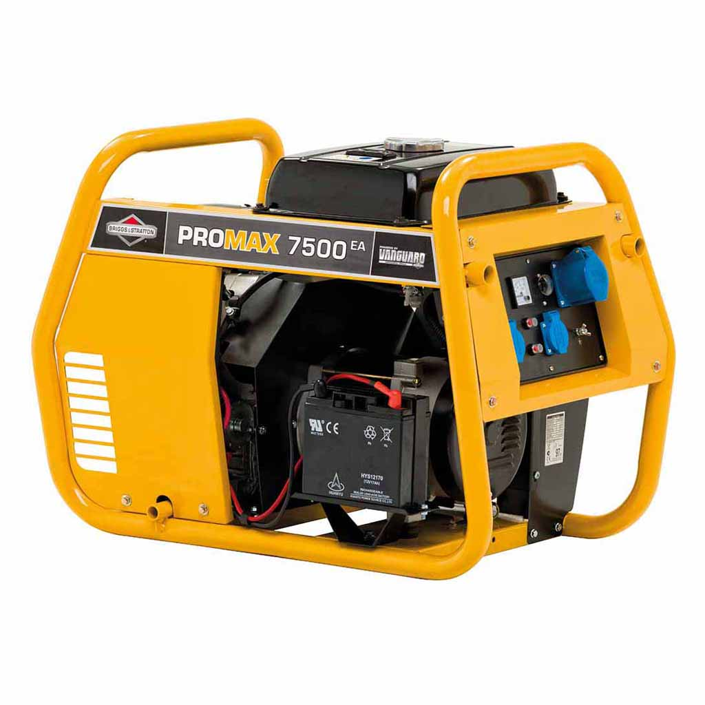 бензиновая электростанция promax 7500еа