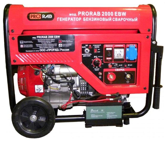бензиновая электростанция prorab 2000 ebw
