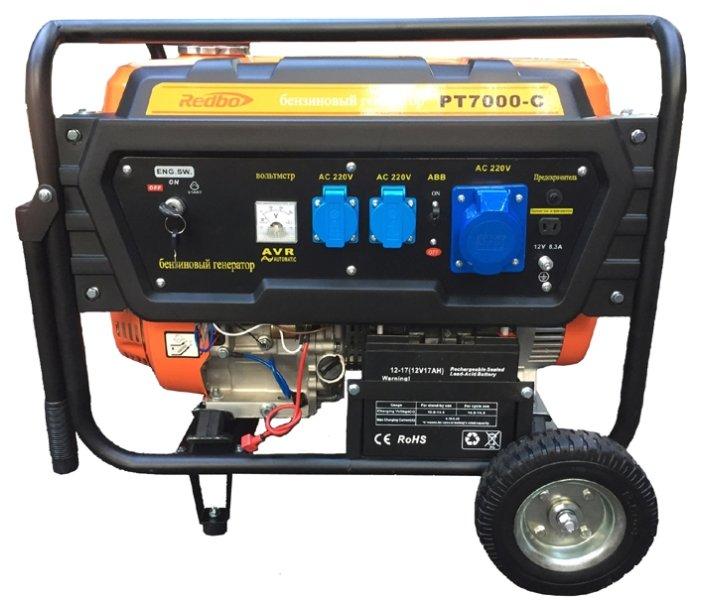 бензиновая электростанция redbo pt7000c