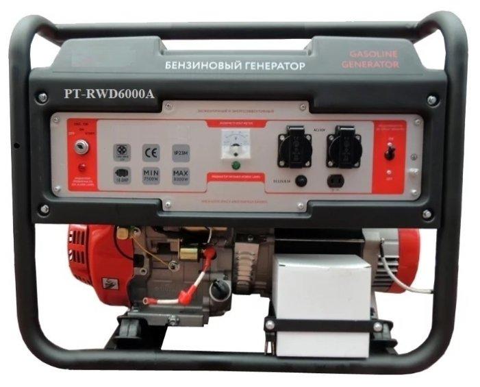 бензиновая электростанция redbo pt-rwd6000a