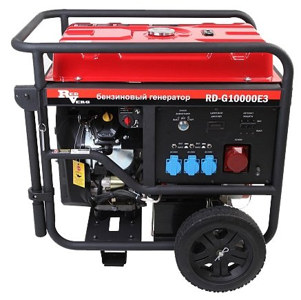 бензиновая электростанция redverg rd-g10000e3