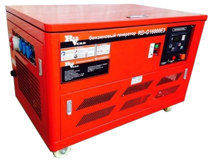бензиновая электростанция redverg rd-g16000e3