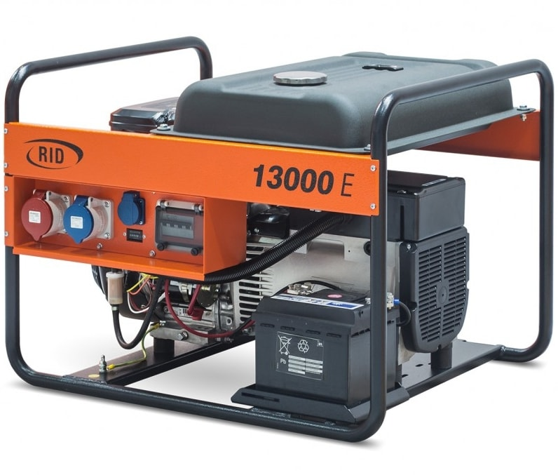 бензиновая электростанция rid rh 13000 e