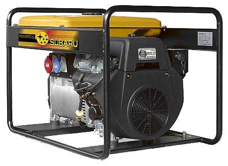 бензиновая электростанция robin‑subaru eb13.5/400-sle